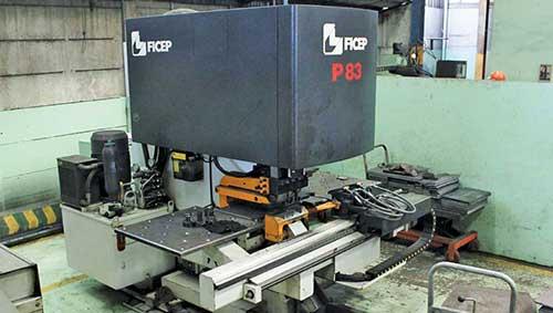 Ficep P83 CNC Plate Punching Line
