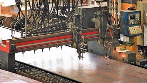 CNC Oxycutting Machine Multitorches