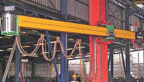 Saw Column Welding Machine