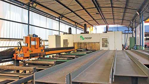 Automatic CNC Drilling & Sawing Line