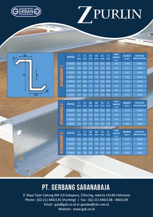 GSB Z-Purlin Brochure