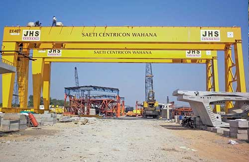 Pt. Gerbang Saranabaja Gantry Crane / Girder Project