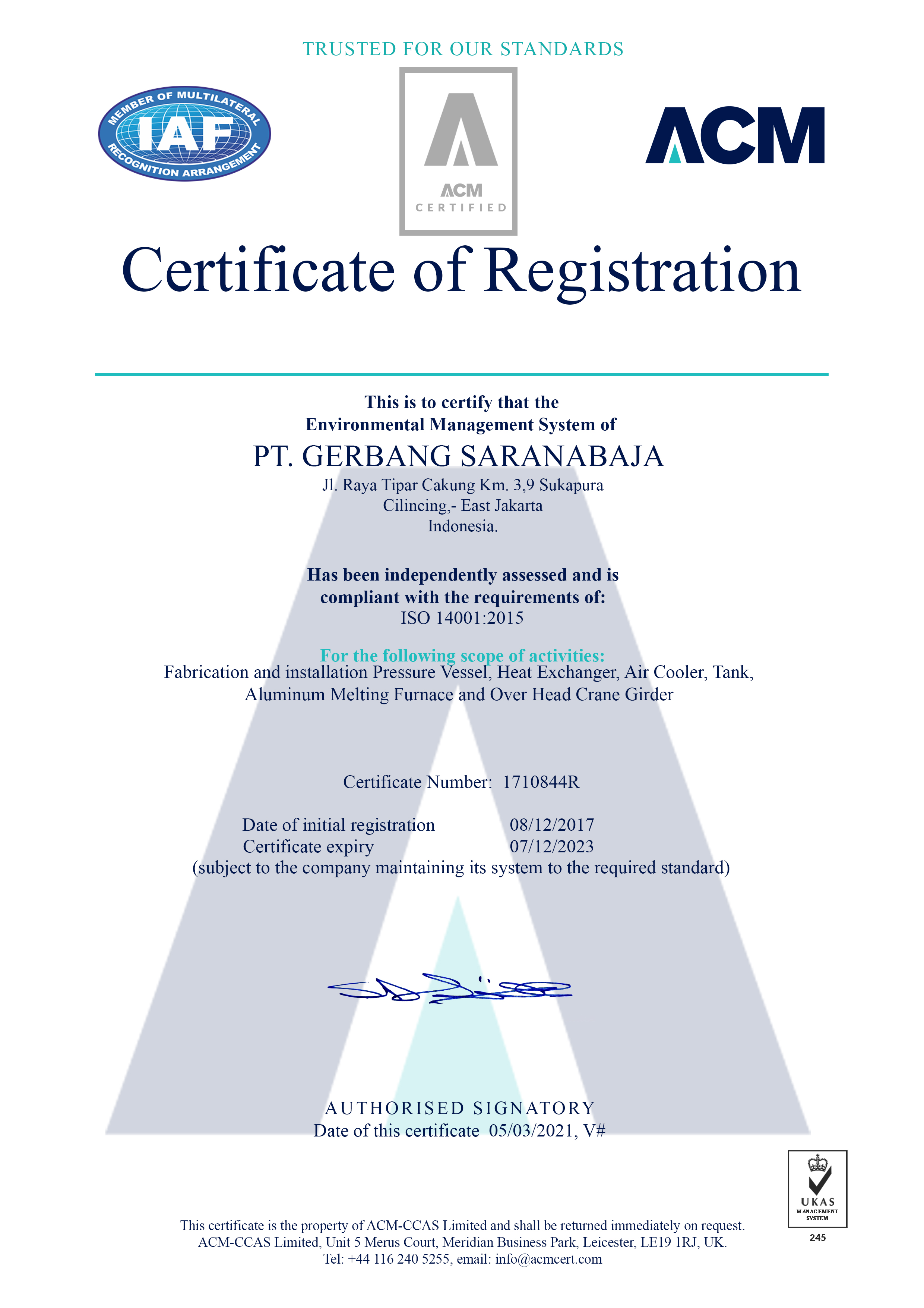 ISO 14001:2018